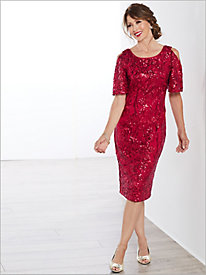 Sassy Sparkle Dress by Alex Evenings