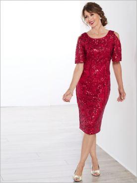 Sassy Sparkle Dress by Alex Evenings