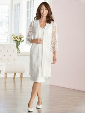 Lavish Lace Jacket Dress