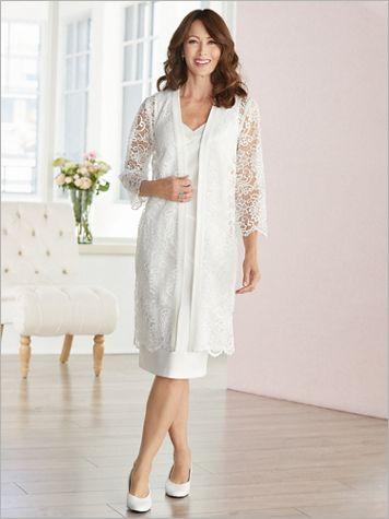 Lavish Lace Jacket Dress - Image 3 of 3