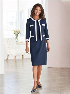 Spectator Jacket Dress