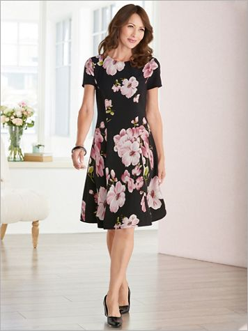 Pretty In Pink Floral Print Dress - Image 3 of 3