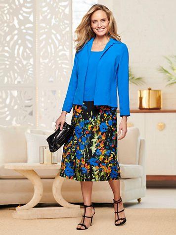 Blooming Border Skirt Set - Image 1 of 4