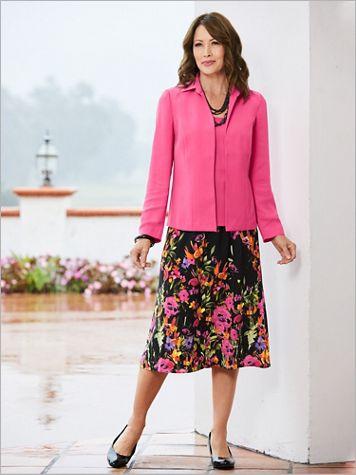 Blooming Border Skirt Set