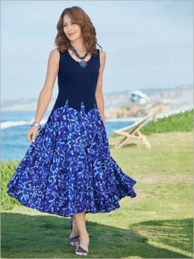 Coastal Vines Dress