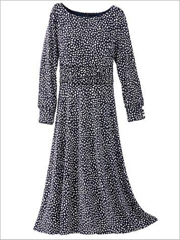 Precious Petals Knit Long Sleeve Dress - Image 2 of 2