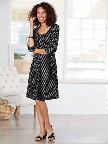 Perfectly Polka Dot Dress - Image 2 of 2