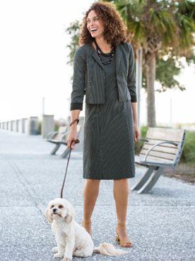 City Chic Jacket Dress