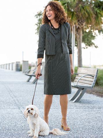 City Chic Jacket Dress - Image 3 of 3