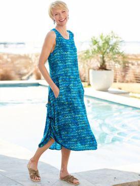 Tropical Patio Dress
