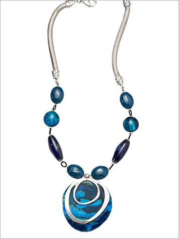 Modern Art Necklace - Image 2 of 2