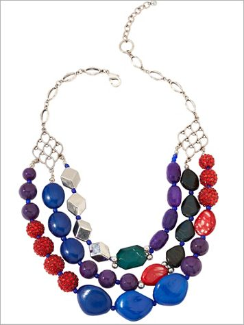 Color Burst Necklace - Image 2 of 2