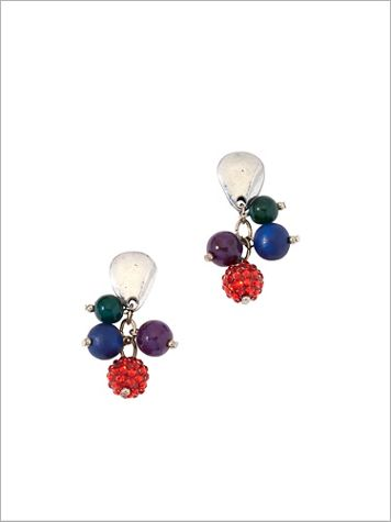 Color Burst Earrings - Image 2 of 2