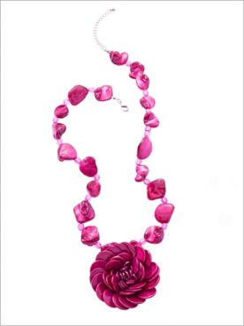 Captivating Corsage Necklace