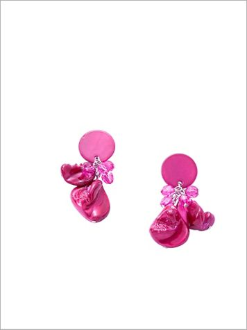 Captivating Corsage Earrings