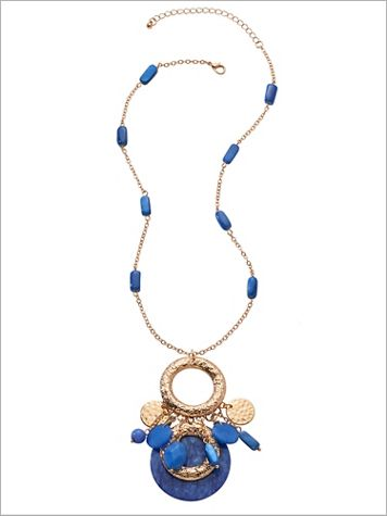 Paradise Cluster Necklace - Image 2 of 2