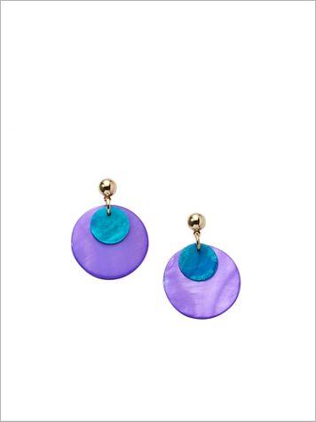 Summer Shell Earrings - Image 2 of 2