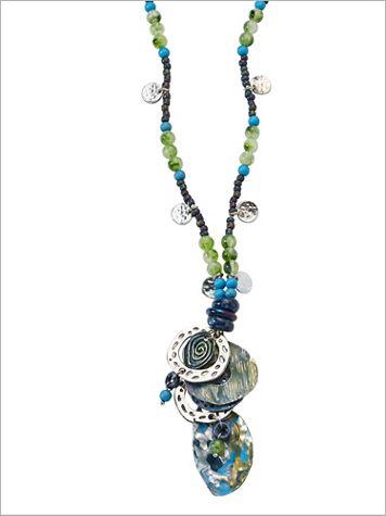 Ibiza Blues Necklace - Image 2 of 2