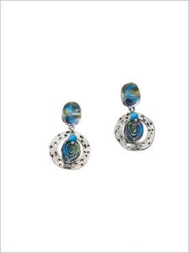 Ibiza Blues Earrings