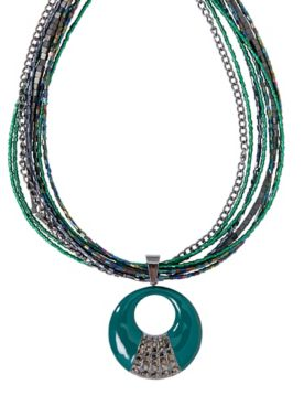 Jewels In The Night Necklace