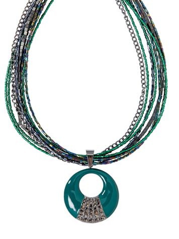 Jewels In The Night Necklace - Image 2 of 2
