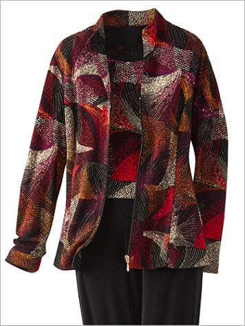 Kaleidoscope Textured Jacket - Image 1 of 3