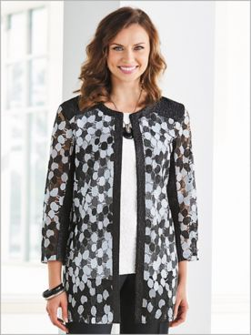 Delicate Embroidery Jacket