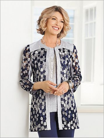 Delicate Embroidery Jacket - Image 2 of 2