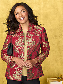 Regal Brocade Jacket