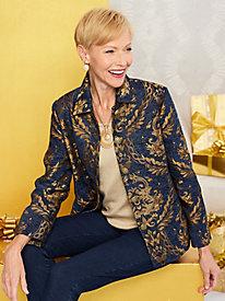 Regal Brocade Jacket