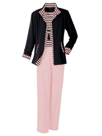 Palm Beach Ponte Knit Jacket Separates by Brownstone Studio®