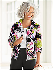 Ribbons And Roses Jacket by D&D Lifestyle™