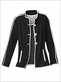 Perfect Ponte Knit Jacket by Brownstone Studio®