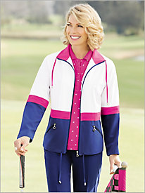 Colorblock Golf Jacket by D&D Lifestyle&#8482 Golf