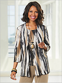 Bold Brushstroke Jacket