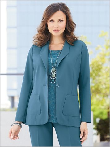 Couture Crepe™ Blazer - Image 1 of 3