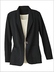 Couture Crepe&#8482 Blazer