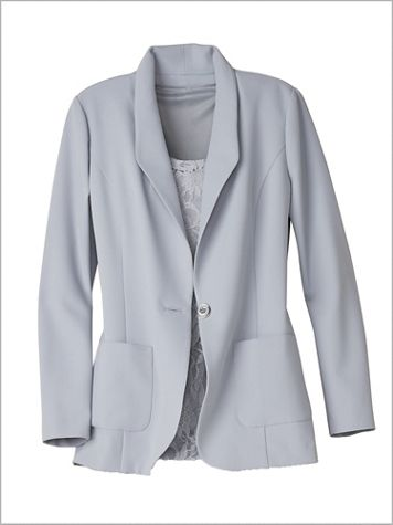 Couture Crepe™ Blazer - Image 0 of 1
