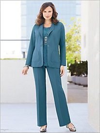 Couture Crepe&#8482 Blazer & Pants
