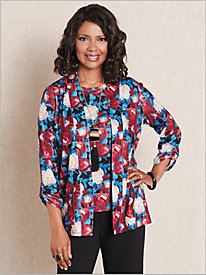 Bloomsbury Floral Cardigan by Brownstone Studio®