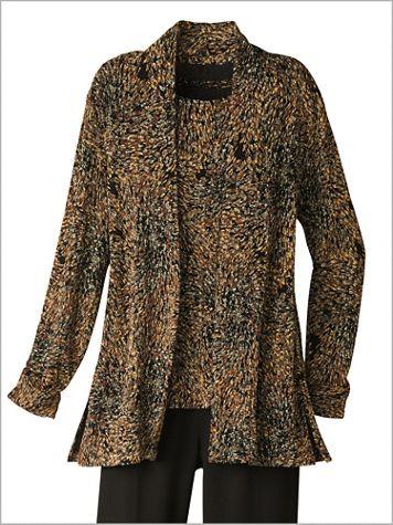 Impressionist Textured Jacket - Image 2 of 2