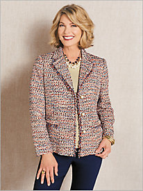 Confetti Tweed Jacket