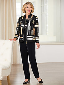 Razzle Dazzle Jacket & Signature Knits® Separates