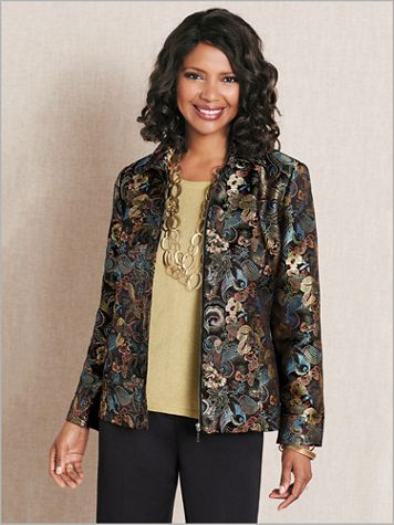 Butterfly Brocade Jacket - Image 2 of 2