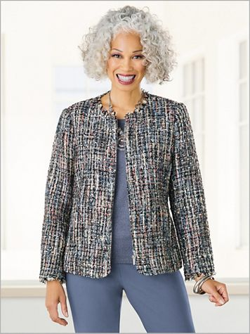 Crystal Cove Tweed Jacket - Image 3 of 3