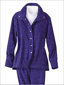 Warm & Cozy Fleece Jacket by D&D Lifestyle™