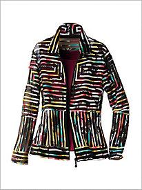 Modern Art Mesh Jacket