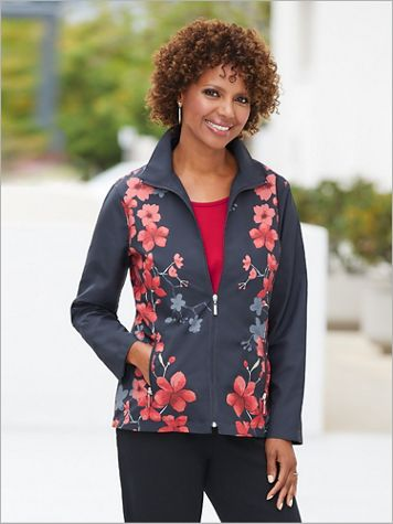 Floral Blossom Jacket by D&D Lifestyle™ - Image 3 of 3