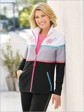 Fiesta Fun Colorblock Jacket