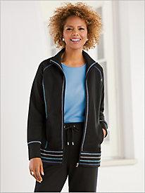 Sporty Stitch Jacket